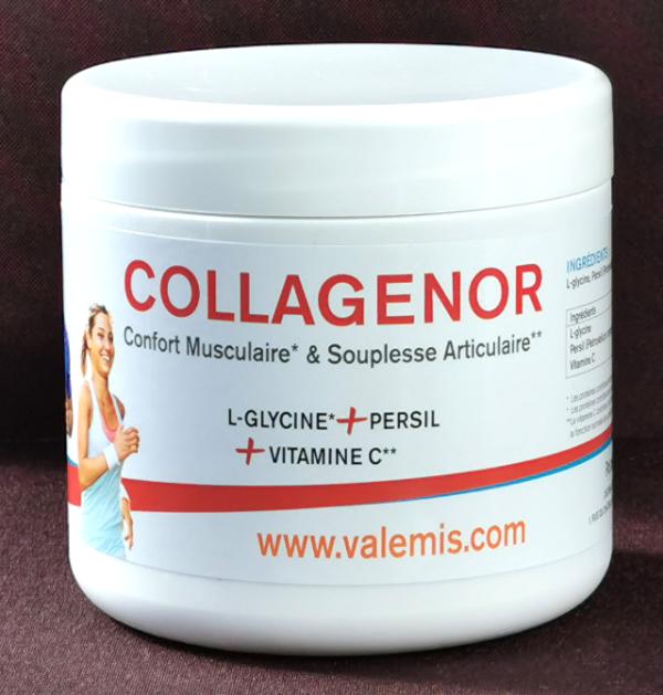 Collagène, collagenor, valemis